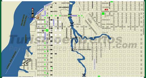 Parana entre rios mapa de la ciudad - Hospital de la paz como llegar ...